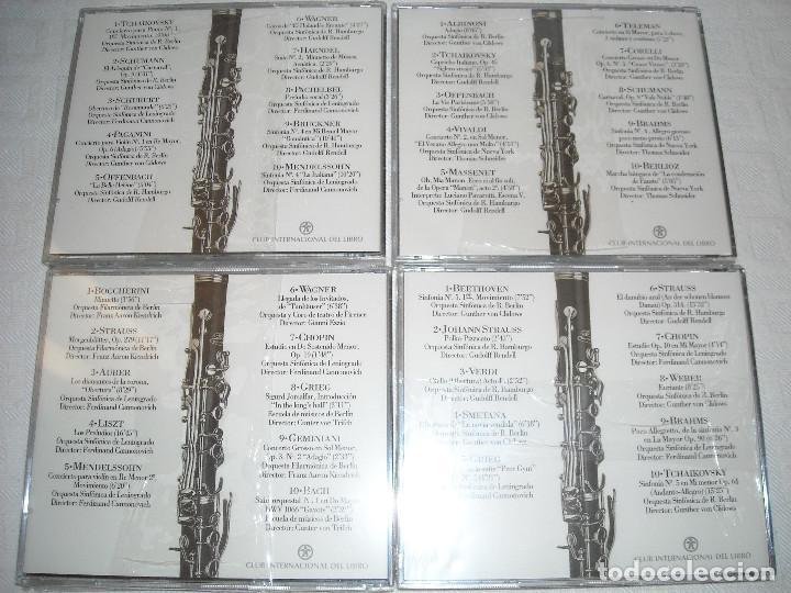 CDs de Música: COLECCION DE 50 CD DE MUSICA CLASICA - OBRAS MAESTRAS DE LA MUSICA - Foto 3 - 70583117