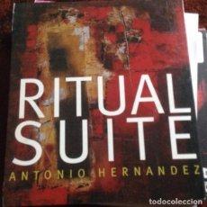 CDs de Música: CD NUEVO PRECINTADO RITUAL SUITE ANTONIO HERNÁNDEZ REF CLAS 10 TEMAS. Lote 71064385