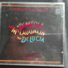 CDs de Música: PACO DE LUCÍA FRIDAY NIGHT IN SAN FRANCISCO. Lote 159009630