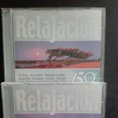 CDs de Música: RELAJACIÓN 2 CDS. Lote 71095910