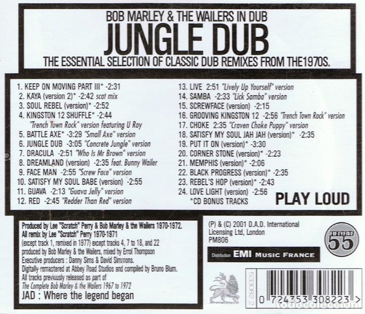 CDs de Música: CD BOB MARLEY & THE WAILERS JUNGLE DUB - Foto 3 - 71096533