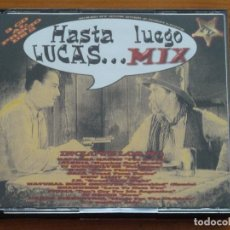 CDs de Música: HASTA LUEGO LUCAS MIX - RECOPILATORIO - 3 CD'S. Lote 71111457