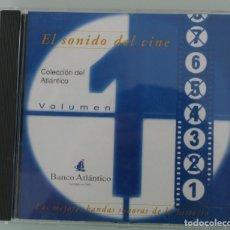 CDs de Música: CD EL SONIDO DEL CINE – LAS MEJORES BANDAS SONORAS DE LA HISTORIA – PELICULAS VOLUMEN 1 COLECCIÓN . Lote 71146157