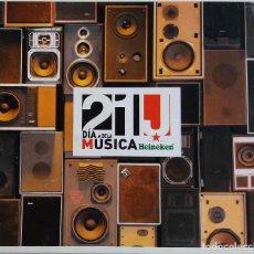 CDs de Música: 21J DIA DE LA MUSICA HEINEKEN. VETUSTA MORLA, LORI MEYERS, ARIZONA BABY... CD DIGIPACK. Lote 71260255