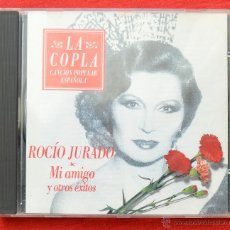 CDs de Música: LA COPLA - ROCIO JURADO - MI AMIGO Y OROS EXITOS. Lote 71370851