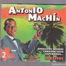 CDs de Música: ANTONIO MACHIN - 30 ÉXITOS (2 CD 2011, NOVOSON JSD-47033/1-2) NUEVO. Lote 71490599