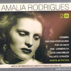CDs de Música: AMALIA RODRIGUES - COIMBRA. UNA CASA PORTUGUESA... HASTA 40 ÉXITOS (2 CD 2005 HELIX NOVOSON) NUEVO. Lote 71493619