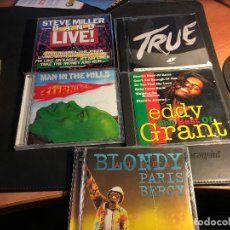 CD de Música: LOTE 5 CD BLONDY, EDDY GRANT, BURNING SPEED, TRUE, STEVE MILLER BAND (CDI4). Lote 71544299