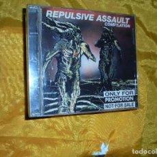CDs de Música: REPULSIVE ASSAULT. COMPILATION. CD PROMOCIONAL. 1995(#). Lote 71554311
