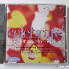 CDs de Música: MUSICA PARA UNA BODA PERFECTA, MUSIC FOR A PERFECT WEDING, CELEBRATE, CLASSIC FM. Lote 71659063