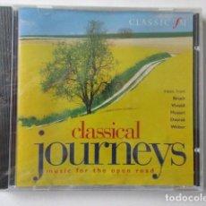 CDs de Música: MUSICA PARA UN VIAJE EN COCHE, MUSIC FOR THE OPEN ROAD, MÚSICA PARA VIAJE POR CARRETERA, CLASSIC FM. Lote 71659399