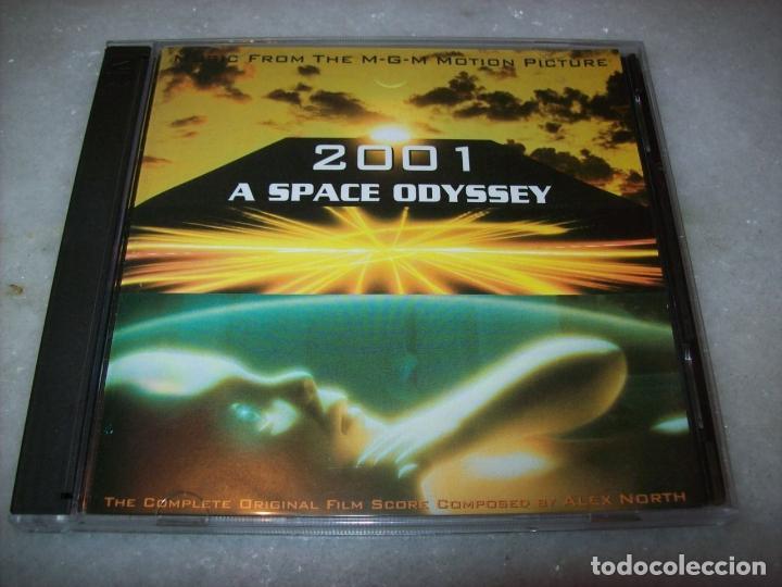 B.S.O. ORIGINAL * 2001: UNA ODISEA DEL ESPACIO & 2010: ODISEA DOS * (2 CD´S/DOS SCORES CTOS). NUEVA. (Música - CD's Bandas Sonoras)