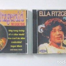 CDs de Música: LOTE DE DOS CD DE ELLA FITZGERALD, THE CLASSIC YEARS Y FLYING HOME, SELLO COMET, AÑO 1997.. Lote 71705391