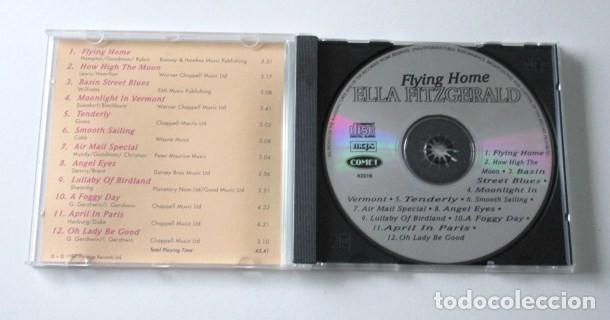 CDs de Música: LOTE DE DOS CD DE ELLA FITZGERALD, THE CLASSIC YEARS Y FLYING HOME, SELLO COMET, AÑO 1997. - Foto 4 - 71705391