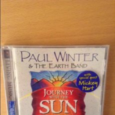 CDs de Música: JOURNEY WITH THE SUN - PAUL WINTER & THE EARTH BAND -. Lote 71705451