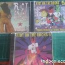 CDs de Música: RIOT ON THE ROCKS - 3 CDS - VOL. 4, 5 Y 6. MAS DE 70 BANDAS. Lote 164378848