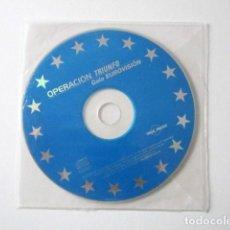 CDs de Música: OPERACIÓN TRIUNFO UNO, OT 1, GALA EUROVISIÓN. Lote 71736471