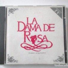 CDs de Música: CD CON LA B.S.O. LA DAMA DE ROSA, BANDA SONORA ORIGINAL, TEMAS ORIGINALES, AÑO 1991. Lote 71743047