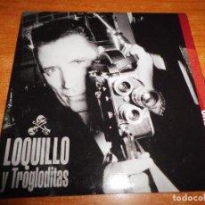 CDs de Música: LOQUILLO Y TROGLODITAS ARTE Y ENSAYO CD SINGLE PROMO CARTON 2004 1 TEMA. Lote 147832718