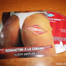 CDs de Música: CUBATON REGGAETON CUBANO CD ALBUM PROMO CARTON 2005 EL MEDICO CANDYMAN Y LA FAMILIA 6 TEMAS + VIDEO. Lote 71782883