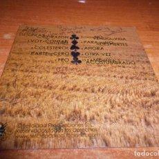 CD de Música: FULANOS Y LA MENGANA BAND PARTE DE CERO FIRMADO EN LA CONTRAPORTADA CD ALBUM PROMO CARTON 10 TEMAS. Lote 71785627