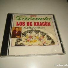 CD de Música: DE ZARZUELA LOS DE ARAGON ALFREDO KRAUS . Lote 71790883