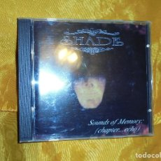 CDs de Música: SHADE. SOUNDS OF MEMORY.. (CHAPTER...ECHO) CD. GERMANY 1995. IMPECABLE. Lote 71829399