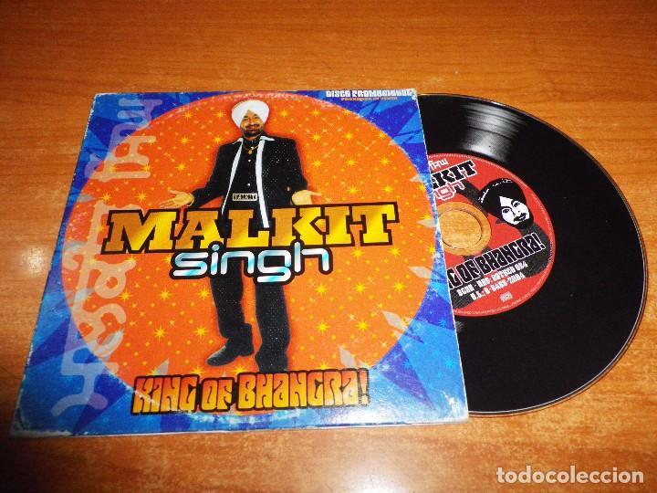 MALKIT SINGH KING OF BHANGRA CD ALBUM PROMO CARTON 2004 ESPAÑA CONTIENE 12 TEMAS + VIDEO (Música - CD's World Music)
