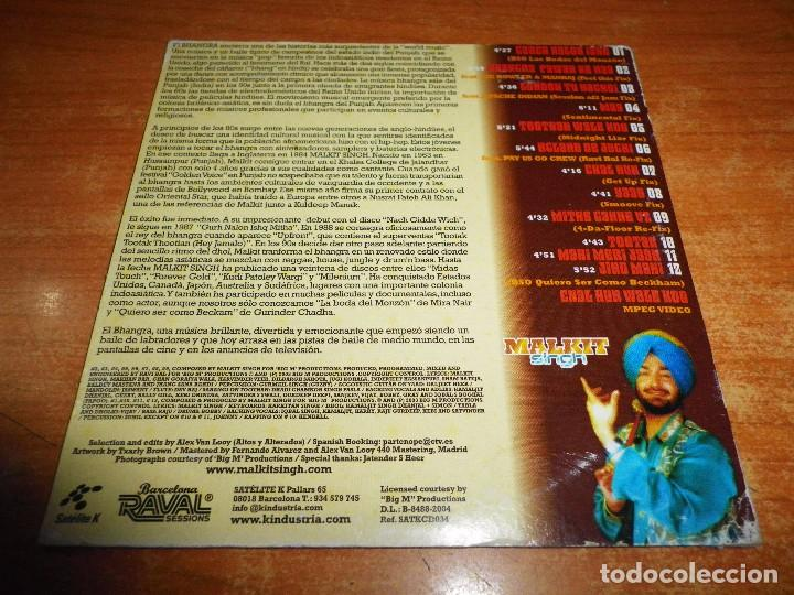 CDs de Música: MALKIT Singh KING OF BHANGRA CD ALBUM PROMO CARTON 2004 ESPAÑA CONTIENE 12 TEMAS + VIDEO - Foto 2 - 71839355