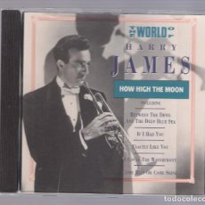 CDs de Música: HARRY JAMES - THE WORLD OF HARRY JAMES. HOW HIGH THE MOON (CD 1992, TRACE 0400152). Lote 71841539