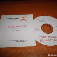 CDs de Música: TOMB RAIDER BANDA SONORA CD ALBUM PROMO 2001 ESPAÑA CD-R ORIGINAL U2 NIN CHEMICAL BROTHERS. Lote 71845535