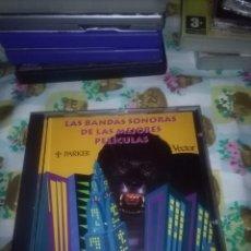 CDs de Música: LAS BANDAS SONORAS DE LAS MEJORES PELÍCULAS. . Lote 71879451