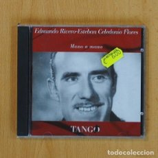 CDs de Música: EDMUNDO RIVERO ESTEBAN CELEDONIO FLORES - MANO A MANO - CD. Lote 71901287