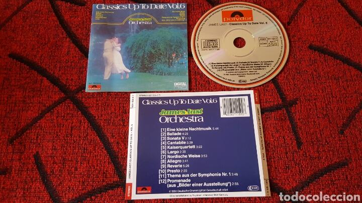 JAMES LAST CLASSICS UP TO DATE VOL. 6 CD ORIGINAL (Música - CD's World Music)