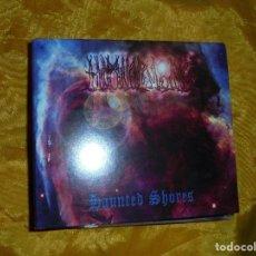 CDs de Música: HIMINBJORG. HAUNTED SHORES. CD DIGIPAK. USA 2001. IMPECABLE. Lote 72063475