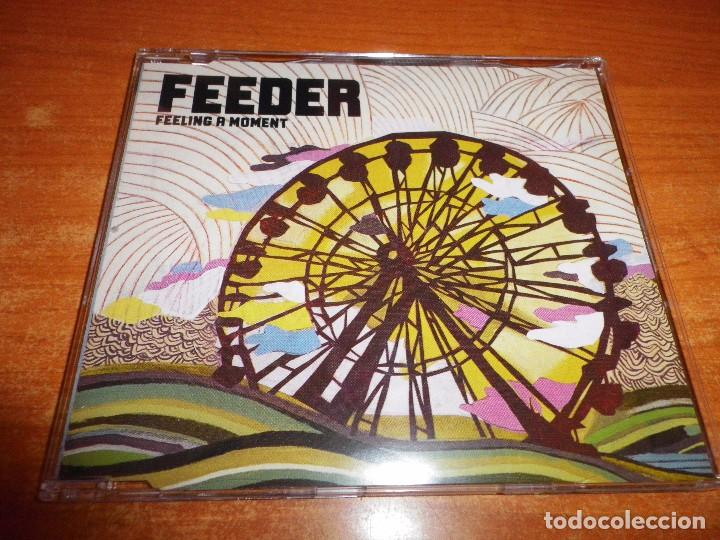 FEEDER FEELING A MOMENT CD SINGLE 2005 PORTADA DE PLASTICO CONTIENE 5 TEMAS (Música - CD's Rock)