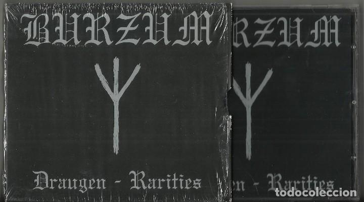 BURZUM DRAUGEN / RARITIES CD + DVD.2005 (Música - CD's Heavy Metal)
