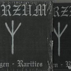 CDs de Música: BURZUM DRAUGEN / RARITIES CD + DVD.2005. Lote 72079547
