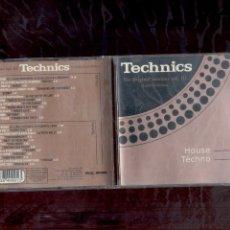 CDs de Música: TECHNICS THE ORIGINAL SESSIONS VOL 3 PARTES 3 Y 4. HOUSE Y TECHNO.. Lote 152495388