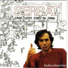 CDs de Música: JOAN MANUEL SERRAT - CADA LOCO CON SU TEMA. Lote 72125363