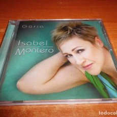 CDs de Música: ISABEL MONTERO GARIA CD ALBUM DEL AÑO 2008 CONTIENE 10 TEMAS PACO ORTEGA. Lote 246458035