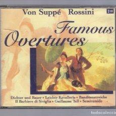 CDs de Música: VON SUPPÉ / ROSSINI - FAMOUS OVERTURES (2CD BRILLANT CLASSICS 99624). Lote 72162595