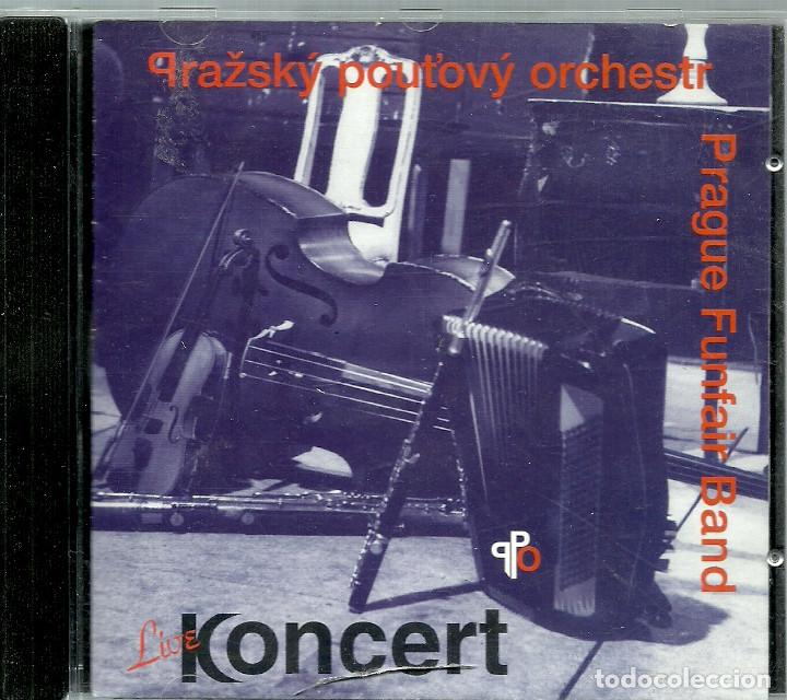 CD - KONCERT - PRAGUE FUNFAIR BAND - 24 TEMAS (Música - CD's Country y Folk)