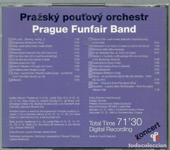CDs de Música: CD - KONCERT - PRAGUE FUNFAIR BAND - 24 TEMAS - Foto 2 - 72192115