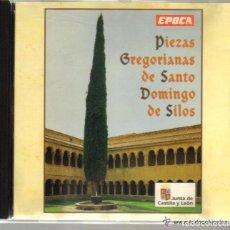 CDs de Música: CD - PIEZAS GREGORIANAS DE SANTO DOMINGO DE SILOS. Lote 72196927