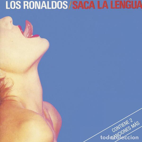 LOS RONALDOS - SACA LA LENGUA (Música - CD's Rock)