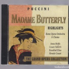 CDs de Música: PUCCINI - MADAME BUTTERFLY (CD 1992, THE GRAND OPERA COLLECTION, SYMPHONY SYCD 6155). Lote 72250331