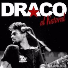 CDs de Música: DRACO - AL NATURAL - CD + DVD. Lote 115274982