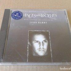 CDs de Música: DANCES WITH WOLVES / BAILANDO CON LOBOS. BANDA SONORA ORIGINAL DE LA PELÍCULA EN CD (JOHN BARRY). Lote 72294491