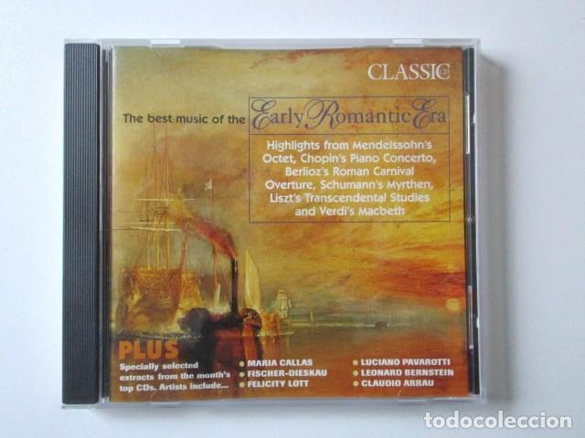 THE BEST MUSIC OF THE EARLY ROMANTIC ERA, LA MEJOR MÚSICA DE LA ERA ROMÁNTICA TEMPRANA, AÑO 2000 (Música - CD's Clásica, Ópera, Zarzuela y Marchas)